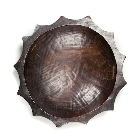 Nzakara Dish, Zaire diameter 12in (30.5cm)