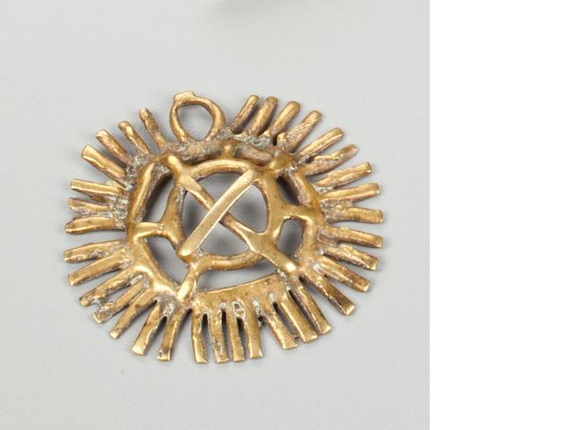 Togo Pendant, Moba  diameter 2 3/4 (7cm)