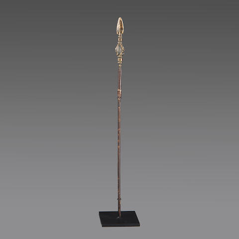 Bambara Pin, Mali  length 18 3/4in (47.6cm)