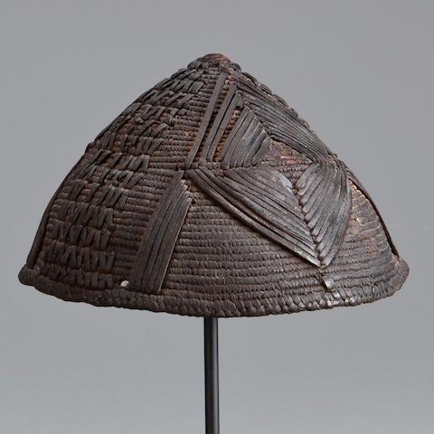 Kirdi Hat, Chad  diameter 6 1/4in (15.9cm)