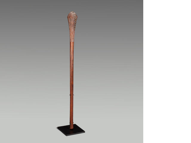 Chokwe Staff, Angola  length 22in (55.9cm)