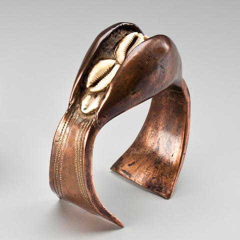 Bracelet, Democratic Republic of the Congo diameter 5in (12.5cm)