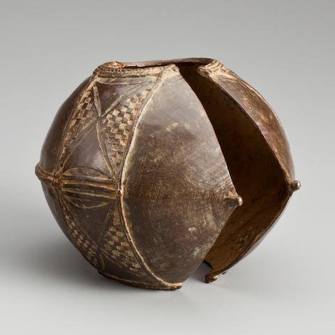 Baule Bracelet, Ivory Coast  diameter 5in (12.7cm)
