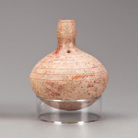 Djenne Pot, Mali  height 6in (15.2cm)