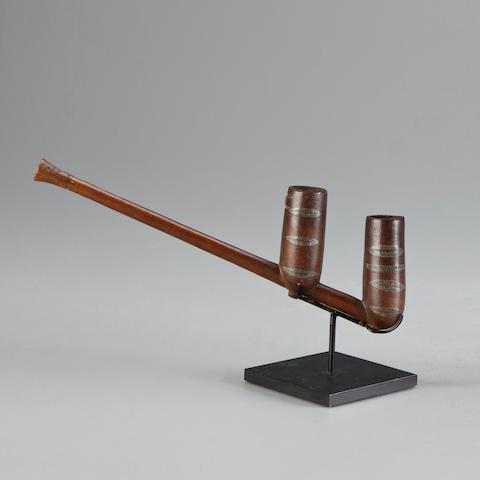 Zulu Pipe, South Africa length 7 3/4in (19.7cm)