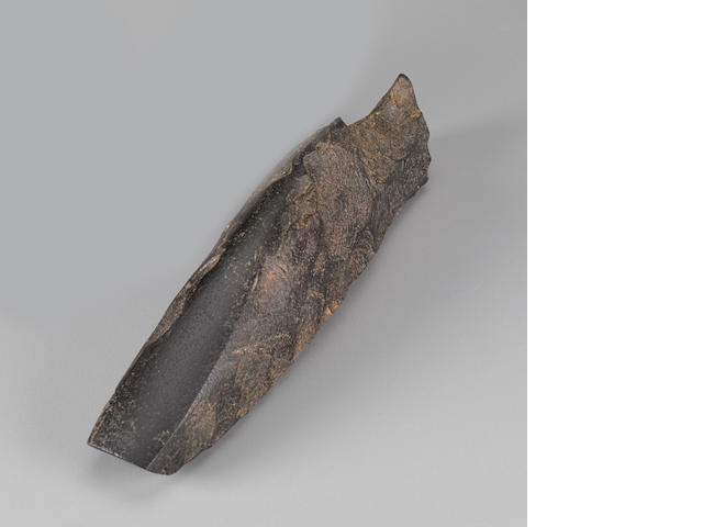 Rare Adze, Marquesas Islands  length 8in (20.3cm)
