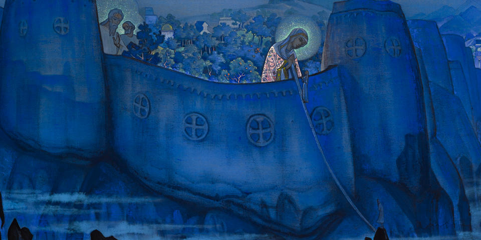 Nikolai Konstantinovich Roerich (Russian, 1874-1947) Madonna Laboris