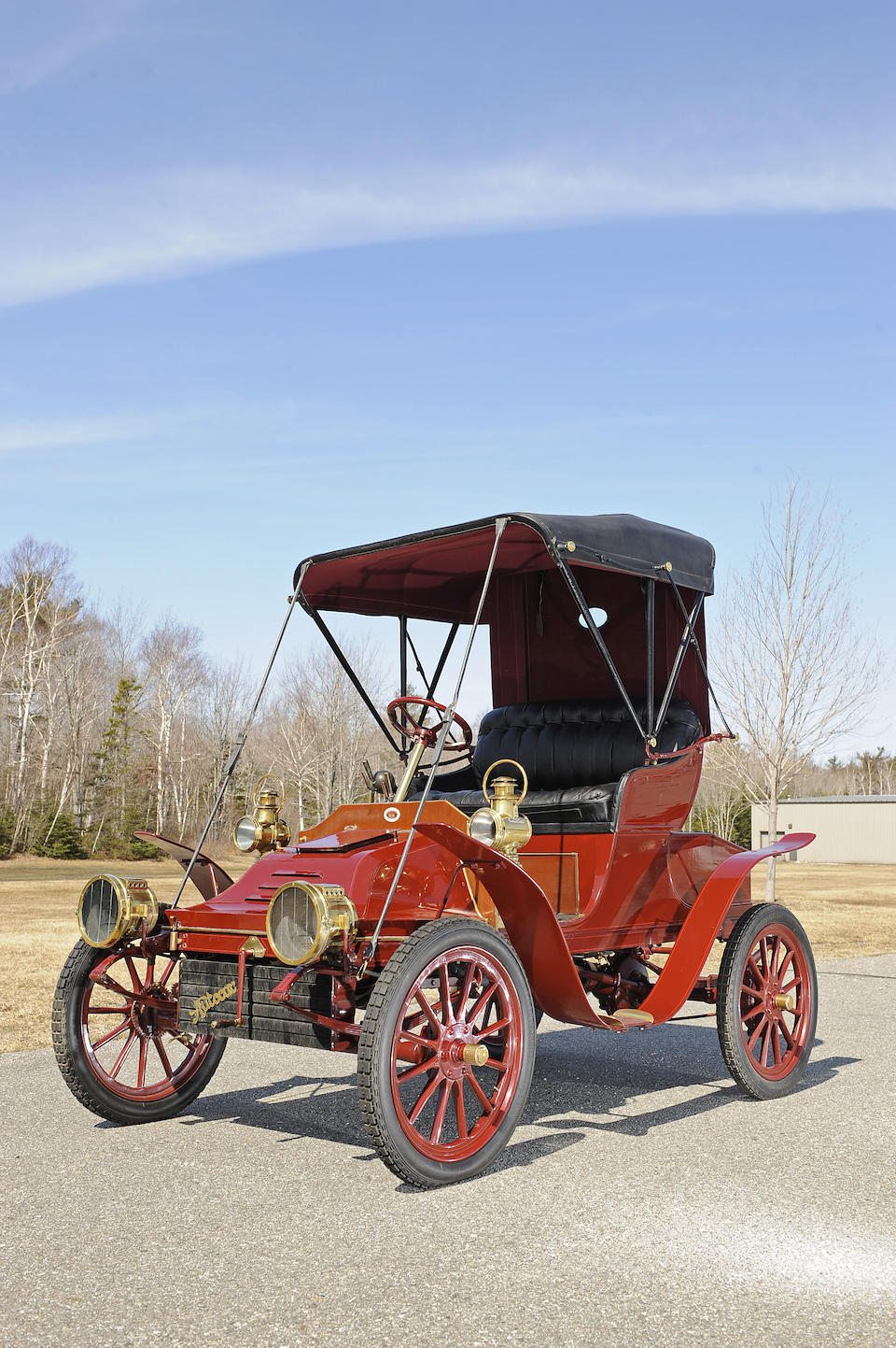1906 Autocar Type 10 Runabout  Chassis no. 7962 Engine no. 7978