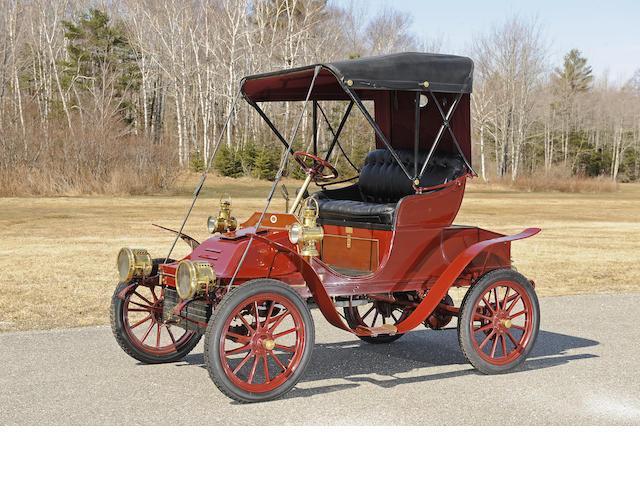 Ex-Dr. Sam Scher,1906 Autocar Type 10 Runabout  Chassis no. 7962