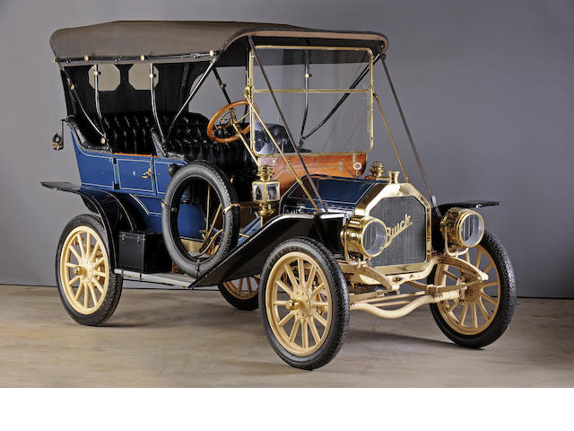 Ex-Dr. Sam Scher,1910 Buick  Model 10 Touring  Engine no. 21278