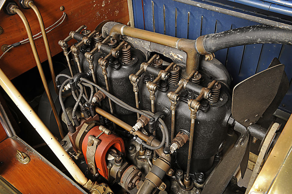 1910 Buick Model 10 Touring  Engine no. 21278