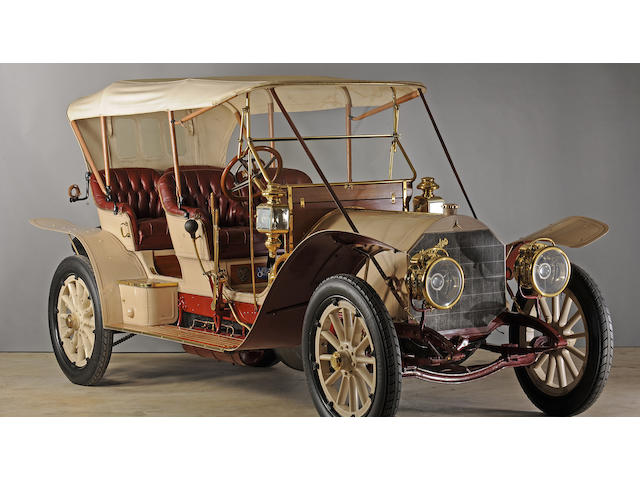 Ex-Dr. Sam Scher,1910 Mercedes 45hp 4-Seat Tourabout  Chassis no. 7686