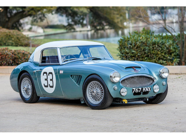 1964 Austin-Healey 3000 MkIII Convertible  Chassis no. HBJ7 64H572 Engine no. XSP21572