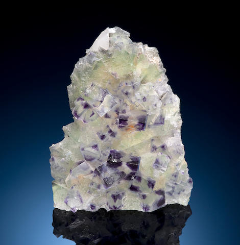 Purple-Green Fluorite