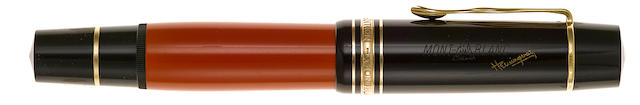 MONTBLANC: Hemingway Writiers Series Limited Edition Fountain Pen