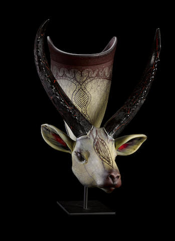 William Morris (American, born 1957) Lechwe Situla, 2000