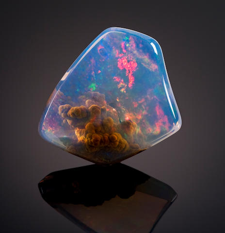 Very Fine American Contra Luz Opal
