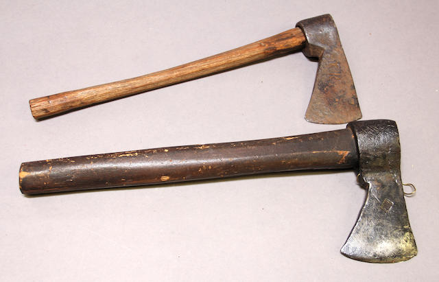 A lot of two 19th century trade axes -Select US Arms Type-