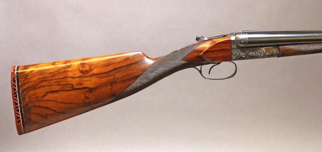 A 16 gauge Belgian shotgun by Francotte -Select US Arms Type-