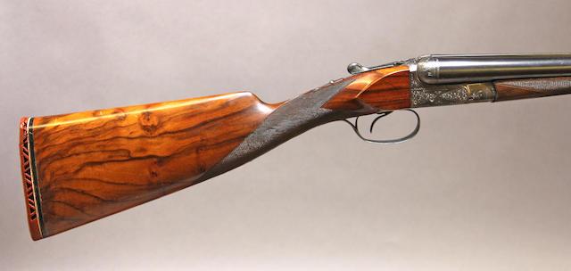A 16 gauge Belgian shotgun by Francotte