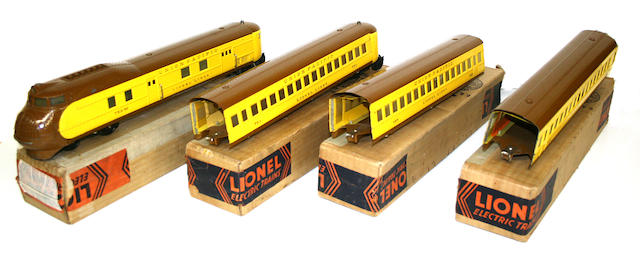 Lionel 752 Union Pacific Set with boxes