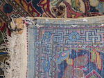A Theran rug  size approximately 4ft. 5in. x 7ft. 4in.