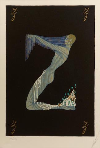 Erté (Romain de Tirtoff) (Russian, 1892-1990); Numbers; (11)