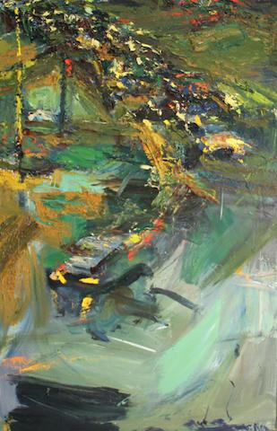 Stephanie Pierce (American 20th/21st century) Untitled 36 x 24in unframed