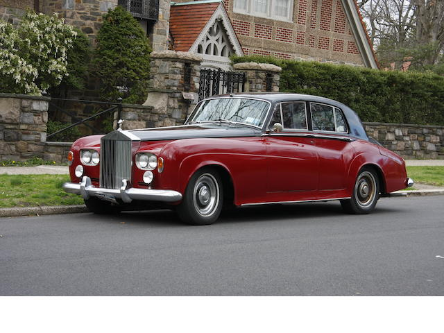 1965 Rolls-Royce Silver Cloud III Saloon  Chassis no. LSKP203