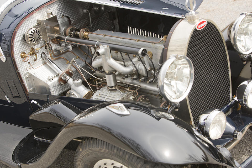Pebble Beach Concours d'Elegance prize winning,1930 Bugatti Type 43 Supercharged Sports 2/4 Seater  Chassis no. 43286 Engine no. 133