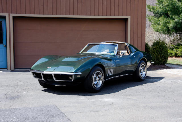"1969 Chevrolet Corvette Stingray ""T-top"" Coupe  Chassis no. 194379S704440 Engine no. 18S410508"