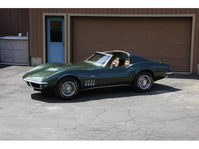 1969 Chevrolet Corvette T-Top Coupe  Chassis no. 194379S704440