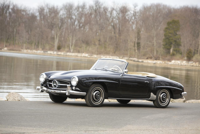 1960 Mercedes-Benz 190SL  Chassis no. 121042.10.017584 Engine no. 121921.10.017694