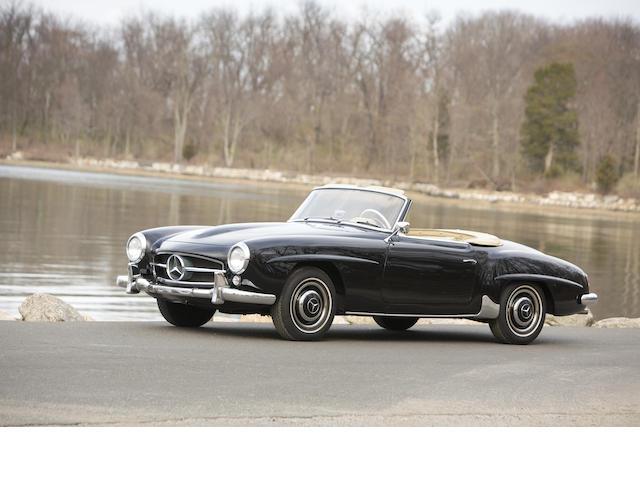 1960 Mercedes-Benz 190SL Convertible  Chassis no. 12104210017584