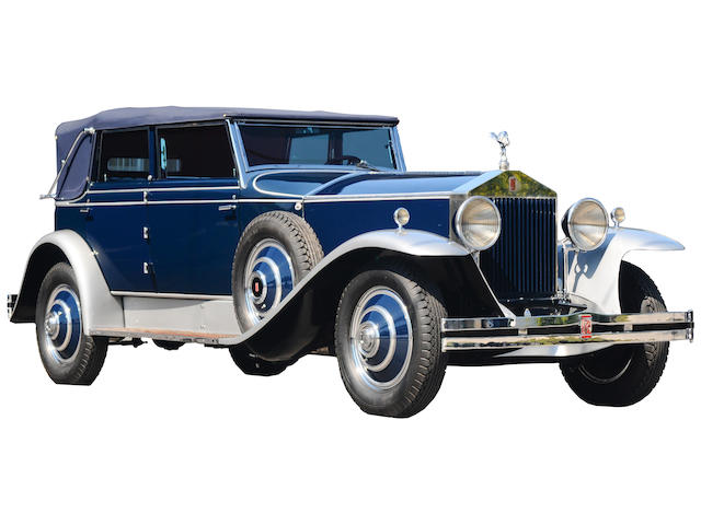 1930 Rolls-Royce  Phantom I Newmarket  Chassis no. S126 PR Engine no. 30260