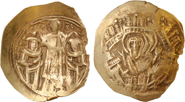 Byzantine Empire, Andronicus II, ca. 1295 AD, Gold Scyphate
