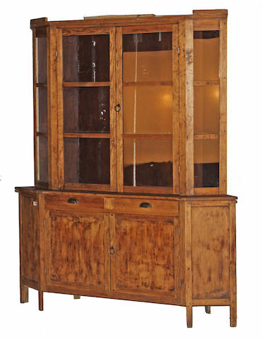 A Spanish Colonial style farmhouse cabinet