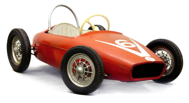 A childs Honda F1 pedal car, c.1960s,