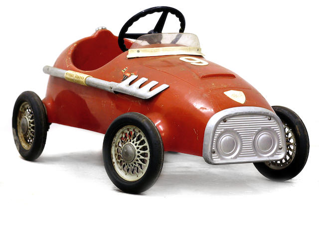 A Pines child's F1 pedal car, c.1960s,