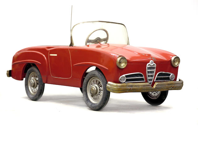 A good Alpha Romeo pedal car, c.1959,