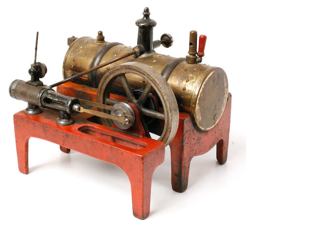 A small pre WWII live model steam engine,