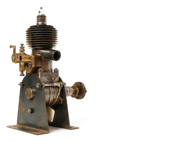 A pre-WW II small horsepower model airplane engine