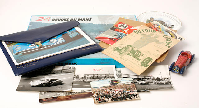 A mixed lot 24 Heures Du Mans collectibles,