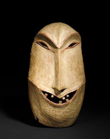 An Alaskan mask, Yupik or Athabaskan
