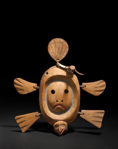A Yupik Eskimo mask