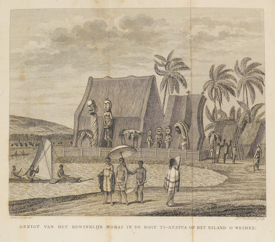 KOTZEBUE, OTTO VON. 1787-1846. 1. Ontdekkingsreis in de Zuid-Zee en naar de Berings-Straat in de jaren 1815, 1816, 1817 en 1818. Amsterdam: Johannes van der Hey, 1822.