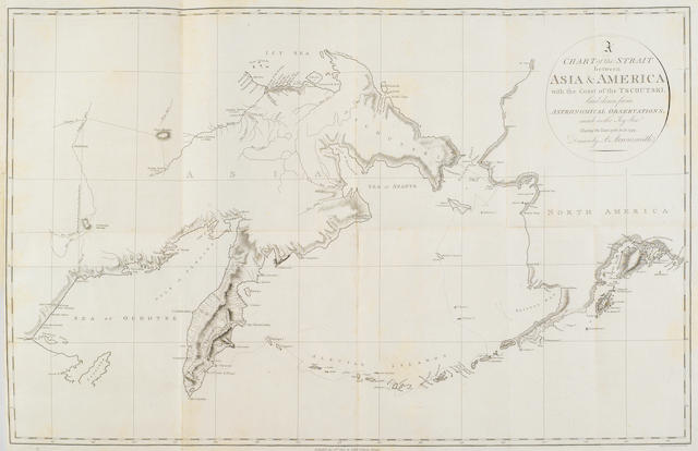 SAUER, MARTIN. [BILLINGS, JOSEPH, COMMODORE.]  An account of a geographical and astronomical expedition to the northern parts of Russia ... by Commodore Joseph Billings, in the years 1785, &c. to 1794. London: T. Cadell, Jun. and W. Davies, 1802.<BR />