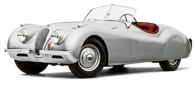 Concours prize winning,1952 Jaguar XK120 OTS  Chassis no. 671555 Engine no. W3656-8