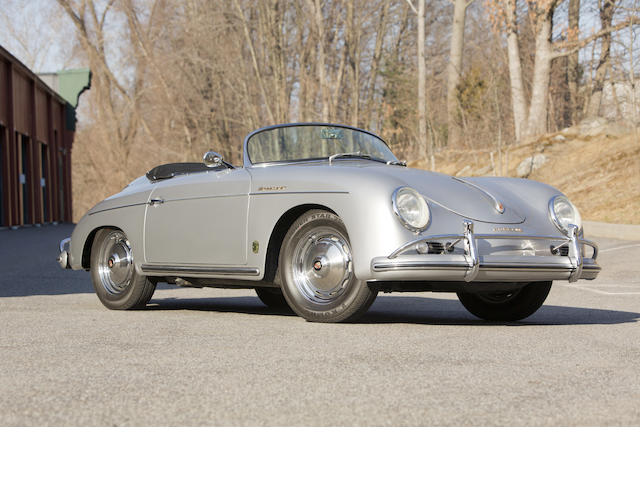1957 Porsche 356A Speedster  Chassis no. 83229 Engine no. P65098