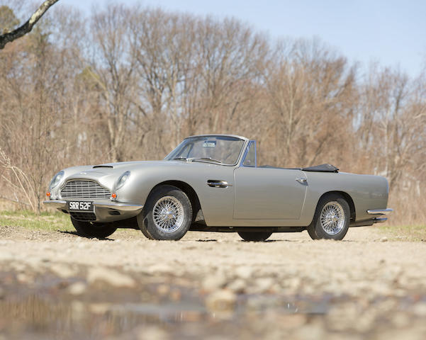 One of only 29 DB6  Vantage Volantes, formerly owned/used by conductor Leonard Bernstein,1967 Aston Martin DB6 Vantage Volante  Chassis no. DBVC/3610/R Engine no. 400/2982/V